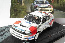 Rallye DECALS 1/24 REF 1660 TOYOTA CELICA CARLOS SAINZ RALLYE MONTE CARLO 1992 RALLY