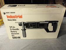Nos Black and Decker Industrial 5054k Sds rotary hammer drill (DeWalt) Germany