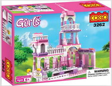 Construction Building Toy Princess Castle Christmas Gift 250 Piece!