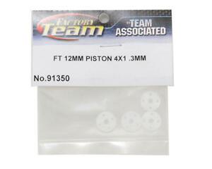 Team Associated ASC91350 FT V1 12mm Big Bore 4 x 1.3mm Tapered Shock Pistons