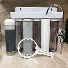 Premium 7-Stage UNDER SINK DRINKING WATER FILTER SYSTEM HOME OFFICE with FAUCET