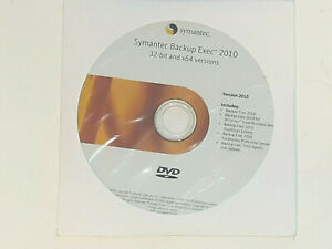 NEW Symantec Backup Exec 2010.32bit And 64bit Versions.NFR. Includes Product Key