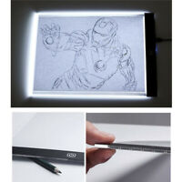 A5 /A4 3 Level Dimmable Led Drawing Pad Board Copy Tracing Light Box Art Craft