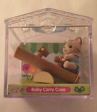 CALICO CRITTERS #CC1964 Baby Cat on Teeter-Totter Carry Case NEW