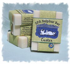 Sweet Grass_Custer SPA Sulphur Mineral Soap Made in Montana _ Handmade Natural