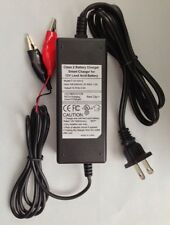 12V 2Amp SLA Battery Charger & Tender for ps-1270 ub1280 gp1270f2 wp7-12 battery