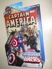 CAPTAIN AMERICA & WINTER SOLDIER (TARGET ONLY) MARVEL COMIC PACKS ACTION FIGURES