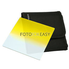 "FOTGA 4 X4"" Gradual Graduated Yellow filter for Matte box Cokin Z Hitech Holder"
