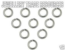 10 x STERLING SILVER JUMP RING 6mm x 0.7mm JEWELLERY MAKING