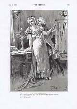 1895 Parson Lost On The Moors Rooke Romance In The Green Room Humour