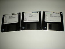 "Microsoft MS-Dos 6.21 on 3.5"" disks. New. Disks only. Genuine."