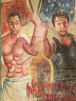 Affiche Cinema Ghana Autentique Peint A La Main Acheté En 2000 Au Ghana Art Brut