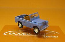 """Brekina 13851-Land Rover 88 año 1968 en /""""taubenblau/"""" 1:87 nuevo el breve"""