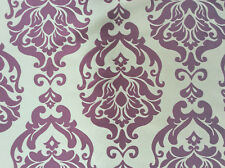Decadence Raspberry - By iliv Traditional, Damask Fabric - 1.5 Metre Piece