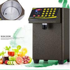 110V Bubble Tea Equipment Fructose Quantitative Machine Fructose Dispenser Us