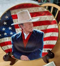 "New ListingFranklin Mint ""John Wayne, Cowboy Legend"" Limited Edition Porcelain Plate"