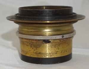 Voigtlander Collinear Series II No. 4 Brass Camera Lens * Read Description *