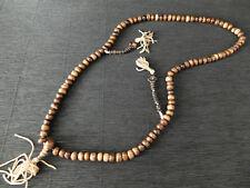 Buddhistische Gebetskette Mala 108 Perlen mit Zähler Tibet Nepal Meditation