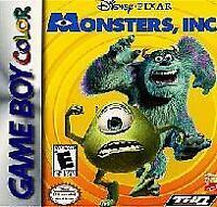 Disney/Pixar Monsters Inc - Nintendo Game Boy Color