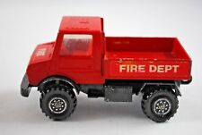 Matchbox SuperKings K-118 MERCEDES UNIMOG FIRE DEPT Truck Ideal for own Livery