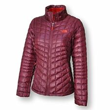 NWT The North Face Women's Thermoball Full Zip Jacket Deep Garnet Red Small