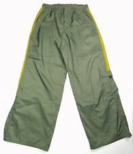 Nike Mens Athletic Work Out Track Pants Olive Green XL