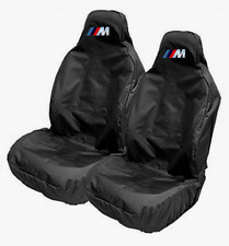 BMW M-TECH / M SPORT Car Sports Bucket Seat Covers Protectors / Fits BMW M3