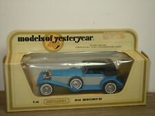 1928 Mercedes SS - Matchbox Models of Yesteryear Y-16 - 1:43 in Box *39970