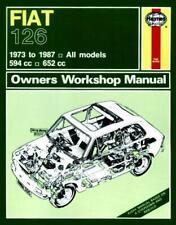 Haynes Workshop Manual Fiat 126 1973-1987 Service & Repair 594cc 652cc