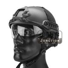 Emerson Tactical Helmet Bump MICH Ballistic MH Type w/Flip Down Visor+NVG Shroud