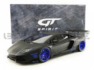GT SPIRIT 1/12 - LAMBORGHINI AVENTADOR LIBERTY WORKS - 2018 - GTS12502BK