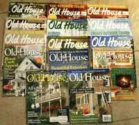 Old House Journal Magazine Lot of 14 Issues 2011-15 #D-14
