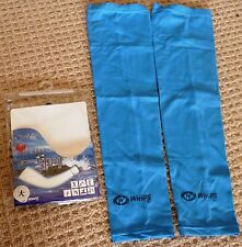*NEW* Whips pair of solar sleeves -Blue- Top quality -Unisize- stay cool & safe