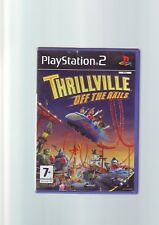 THRILLVILLE : OFF THE RAILS - PLAYSTATION PS2 GAME - ORIGINAL & COMPLETE - VGC