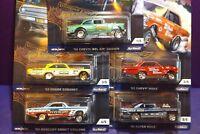 2018 Hot Wheels 50th Car Culture DRAG STRIP DEMONS Set of 5. New mint cards.