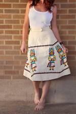Vintage~1970's Dendahl's Aztec Wrap A Line Skirt~Cotton~Xs/S