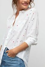 Beautiful Lovely Colorfully Mini Love print Silk Pocket shirts ladies blouses