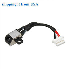 GDV3X 450.07604.0001 DC POWER JACK PLUG IN CABLE DELL INSPIRON 11-3162 11-3168