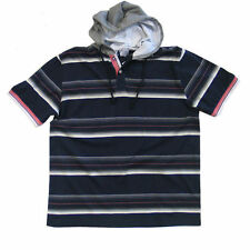 Cotton Hooded Basic Big & Tall T-Shirts for Men