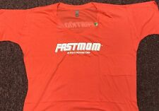 Fast Mom T-Shirt Size 3X Color Coral