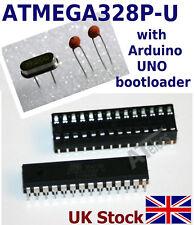 Atmel ATMEGA328P -U AVR preloaded with Arduino UNO bootloader +16Mhz +2x 22pF