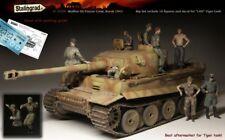 1:35 Waffen-SS Panzer crew, Kursk Guerra Mundial 2 (Segunda Guerra Mundial) 10 Figuras de Resina modelo kit