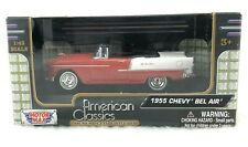 MOTOR MAX AMERICAN CLASSICS 1955 CHEVY BEL AIR 1:43 SCALE