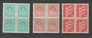 Portugal Scott# 564-565 + 568 Mint Blocks