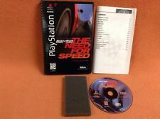 Need for Speed Road & Track Playstation PS1 1 PSONE *Long Box* Complete!