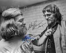 Willie Nelson and Waylon Jennings signed photo 8X10 poster picture autograph RP2