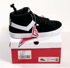 Pony Mens Classic Sneakers High Suede Athletic Shoes Black White  PP1CLLHI Sz 8M