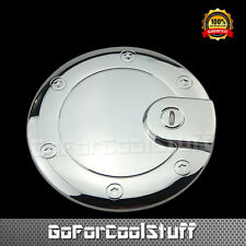 For 2005 - 2010 Jeep Grand Cherokee  Chrome Fuel Gas Cap Door Cover