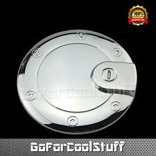 For 2005 06 07 08 09 2010 JEEP GRAND CHEROKEE Chrome Fuel GasTank Cap Door Cover