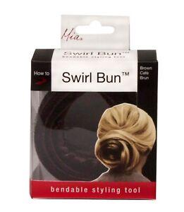 Mia Swirl Bun, Bun Maker Hair Styling Tool, for Brides, Hair Stylists, Dress Up